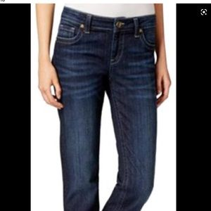 J Brand Mid Rise Straight Leg Cropped Jeans. 31